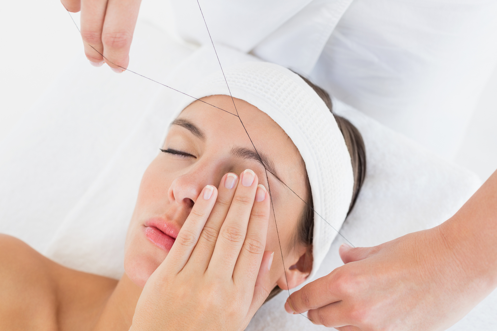 Image result for pain from threading
