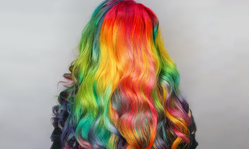 The Right Way To Rainbow Your Multicolored Hair Plan